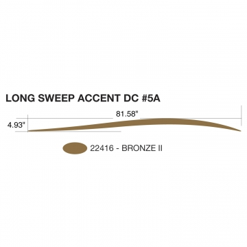 Heartland Long Sweep Accent (Right and Left Hand Side)