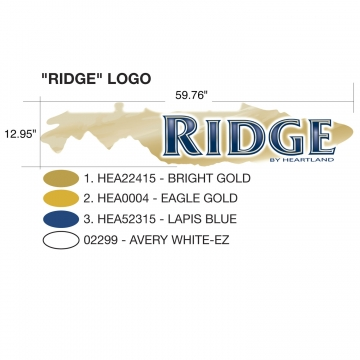 "Heartland Eagle Ridge 2009 ""Ridge"" Logo"