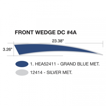 Heartland Edge 2011 Front Wedge Blue (Left and Right Hand)