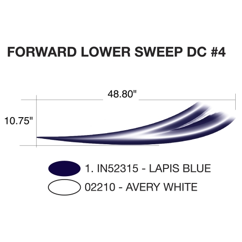Heartland Focus 2011 Forward Lower Sweep (Right and Left Hand Side)
