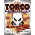 Torco Racing Skull Decal