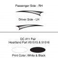 Heartland 2010 Caliber - DC11 Pair (17S)