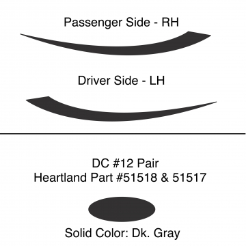Heartland 2010 Caliber - DC12 Pair (17N)