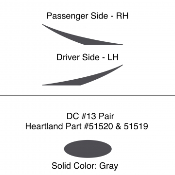 Heartland 2010 Caliber - DC13 Pair (17N)