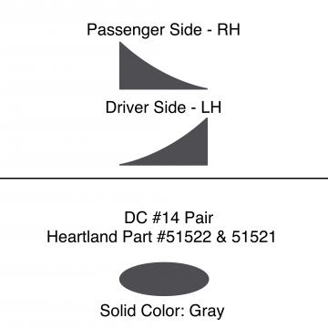 Heartland 2010 Caliber - DC14 Pair (9N)