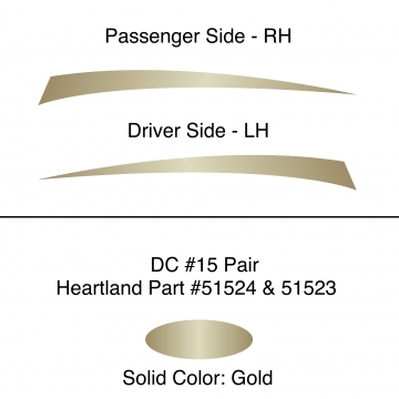 Heartland 2010 Caliber - DC15 Pair (17N / 45N)