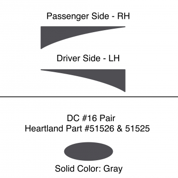 Heartland 2010 Caliber - DC16 Pair (17S)