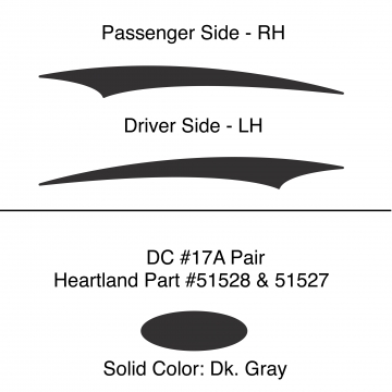 Heartland 2010 Caliber - DC17A Pair (17S)