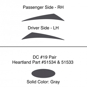 Heartland 2010 Caliber - DC19 Pair (17N / 17S)