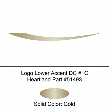 Heartland 2010 Caliber - Logo Lower Accent DC1C (17N)