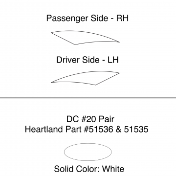Heartland 2010 Caliber - DC20 Pair (17N)