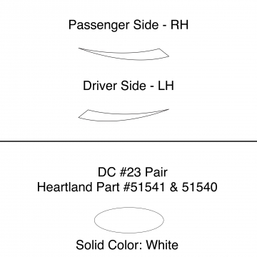 Heartland 2010 Caliber - DC23 Pair (17N)