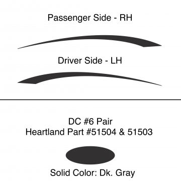 Heartland 2010 Caliber - DC6 Pair (17N)