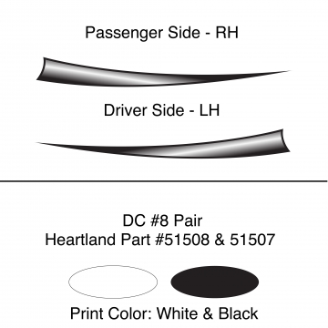 Heartland 2010 Caliber - DC8 Pair (17S)