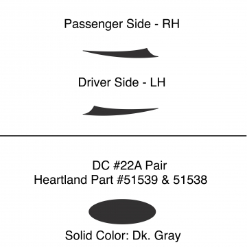 Heartland 2010 Caliber - DC22A Pair (17N)