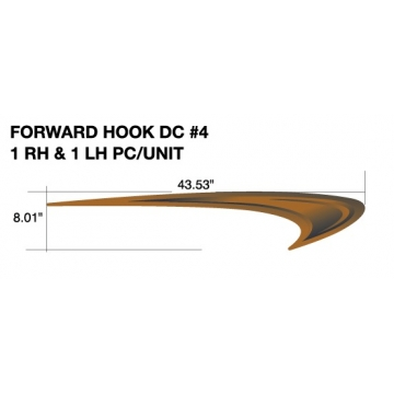 HEARTLAND NORTH TRAIL 2010 FORWARD HOOK (LEFT AND RIGHT HAND SIDE)