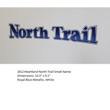 Heartland 2012 North Trail - Small Name
