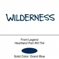 Heartland 2012 Wilderness  -Front Legend EACH (56-S)