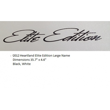 Heartland 2012 Elite Edition - Large Name