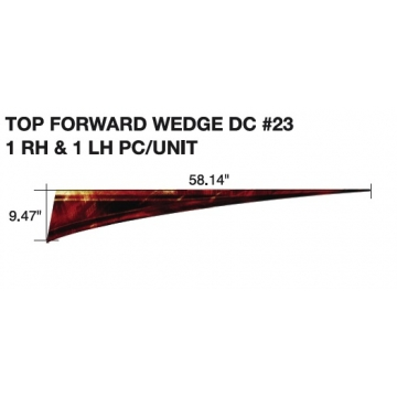 Forest River 2012 XLR Top Forward Wedge (Left & Right Side)