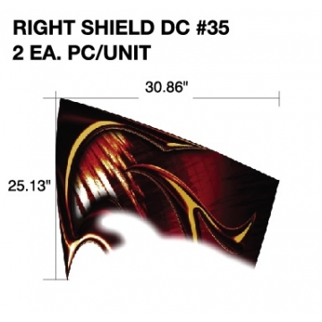 Forest River 2012 XLR Right Shield