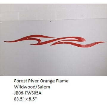 Forest River 2006 Wildwood/Salem Orange Flame
