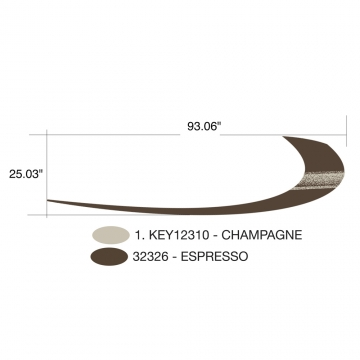Keystone Challenger 2009 Hook (Right and Left Hand Side)