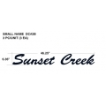 SUNNYBROOK SUNSET CREEK SPORT 2012 SMALL NAME