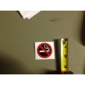 "Pack of 5 ""No Smoking"" Decals"